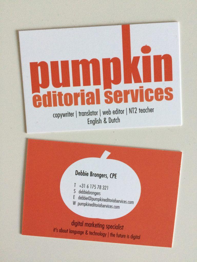 contact details Pumpkin Editorial Services